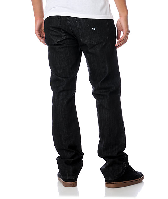 KR3W Klassic Dark Black Denim