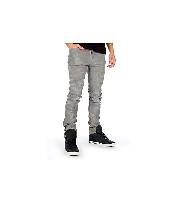 KR3W Muska Dirty Grey Jeans