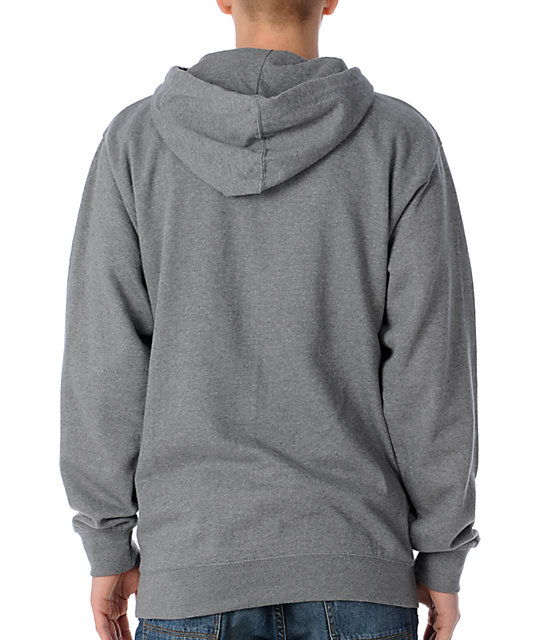 KR3W Original 2 Heather Charcoal Pullover Hoodie