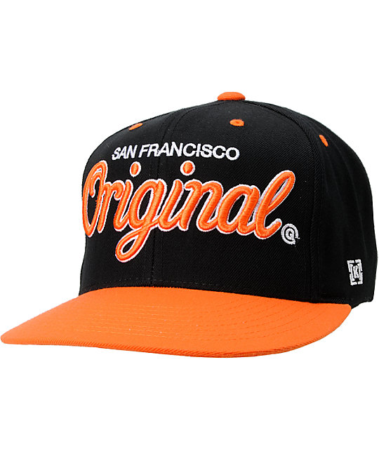 KR3W Original San Francisco City Snapback Hat