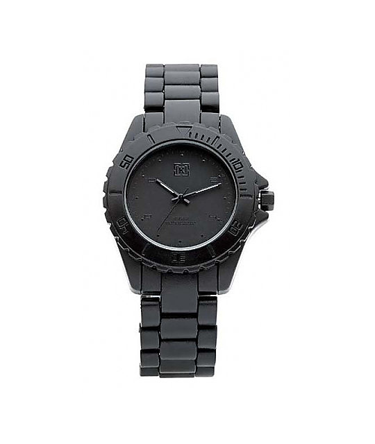 KR3W Phantom Black Analog Watch