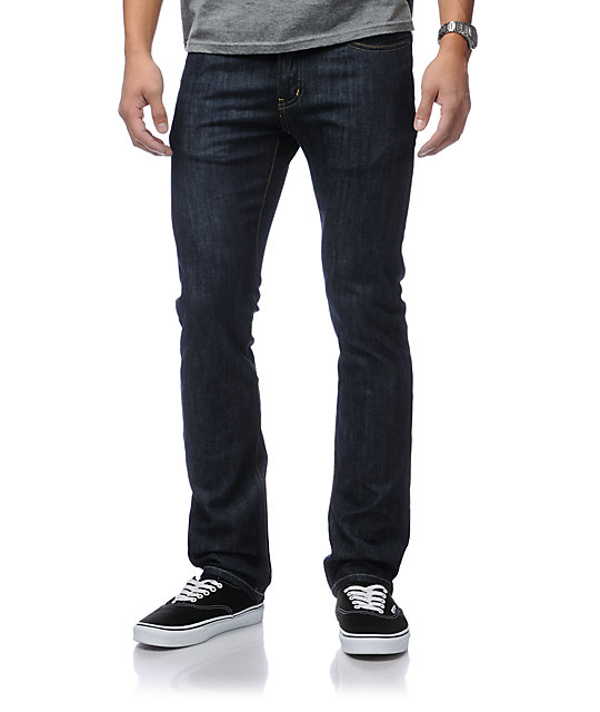 KR3W Raw Blue K Slim Jeans