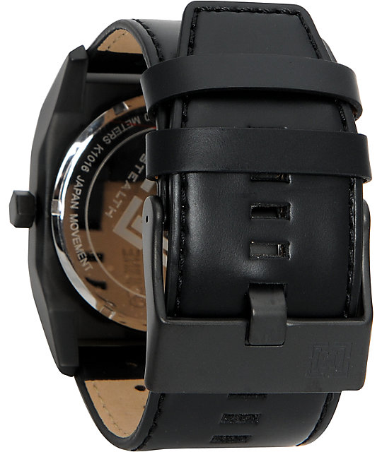 KR3W Stealth Large Black Analog Watch