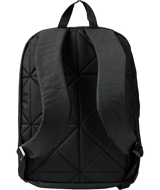 KR3W Truant Black Skate Backpack
