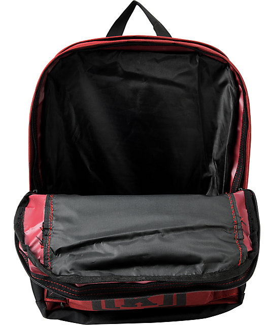 KR3W Truant Red Skate Backpack