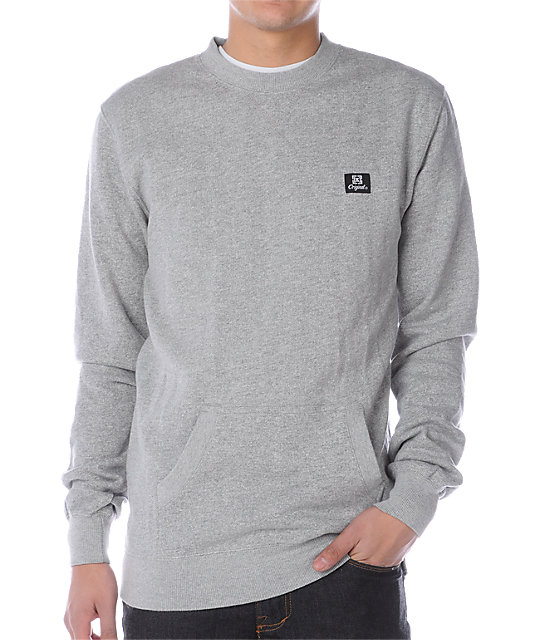 KR3W Wrongside Stone Crew Neck Sweatshirt