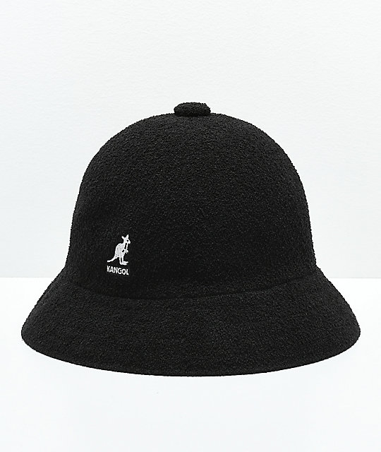 c4f464724ac Kangol Bermuda Casual Black   White Bucket Hat