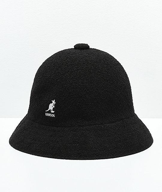 a6a5343ed Kangol Bermuda Casual Black & White Bucket Hat