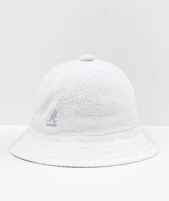 Kangol Bermuda Casual White Bucket Hat  1bea29630a7