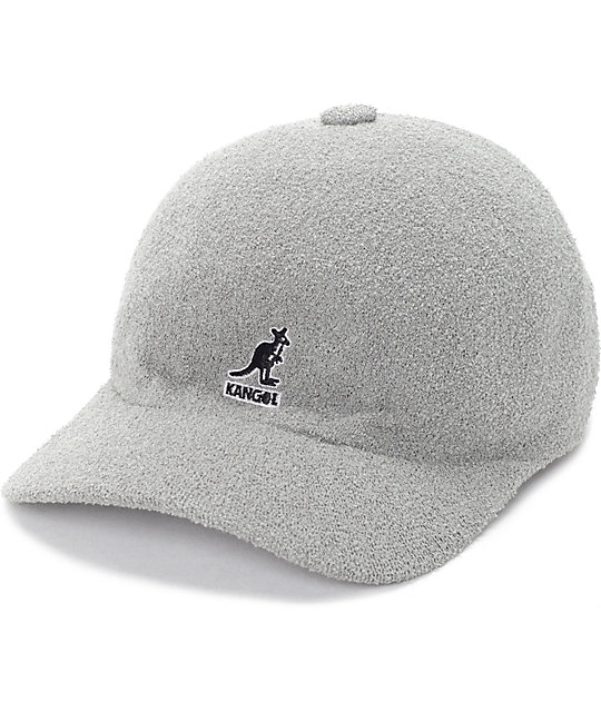 Kangol Bermuda Space Grey Baseball Hat