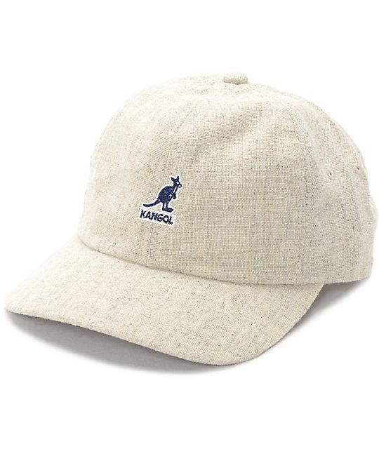 27f668dec Kangol Vintage Concrete Woven Baseball Hat