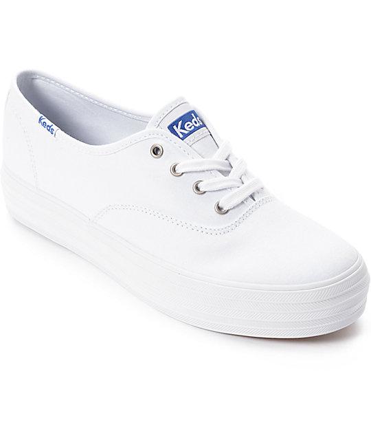 White Leathertennis Shoes