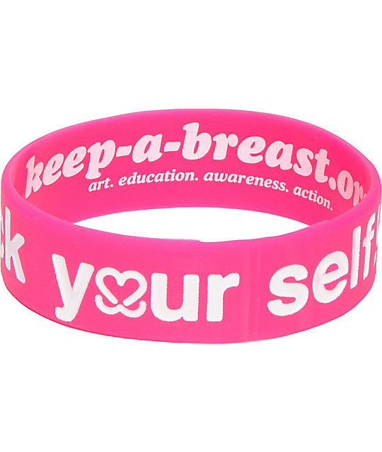 Keep A Breast Foundation Check Yourself Bracelet