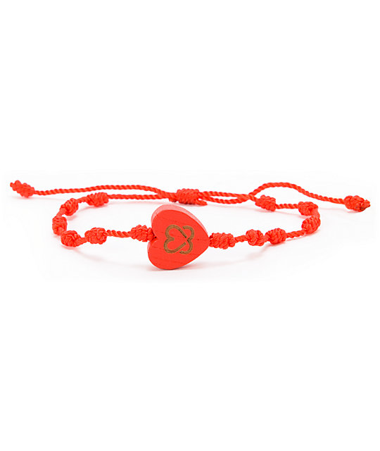 Keep A Breast Foundation Red Knot Bracelet