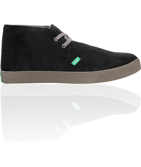 Keep Shaheen Black Suede Shoes