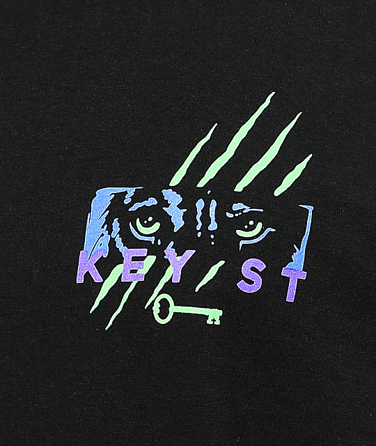 Key Street Night Stalker Black T-Shirt
