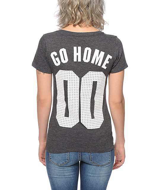 Kill Brand Go Home V-Neck T-Shirt