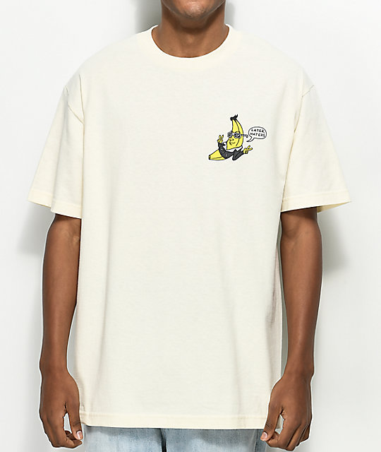 Killer Acid Banana Riders Cream T-Shirt