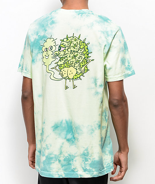 Killer Acid Own Supply Green Tie Dye T-Shirt