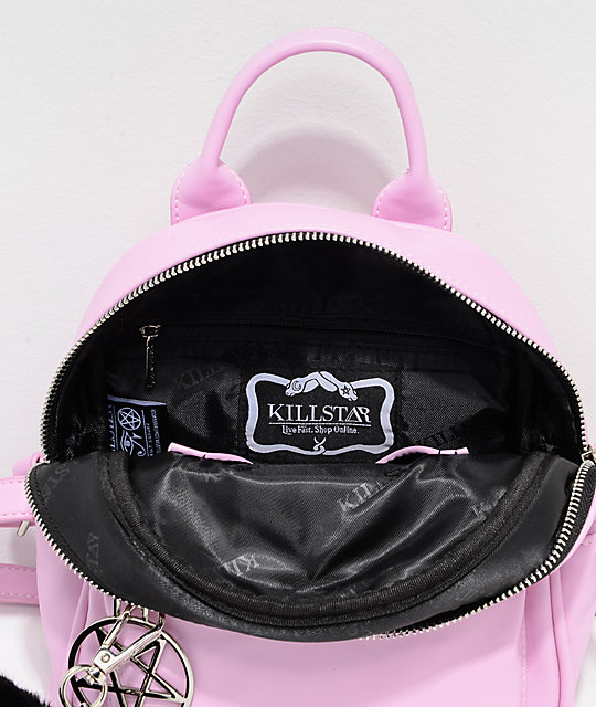 f7a2cf4b7 Killstar Darcy Light Pink Mini Backpack | Zumiez