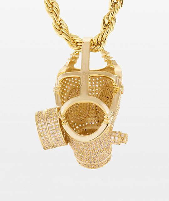 King Ice Gas Mask Rope Chain 26