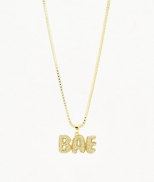 King Ice The Bae Necklace