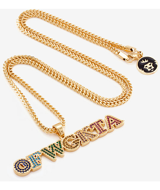 ... King Ice X Odd Future OFWGKTA Pendant Necklace ...