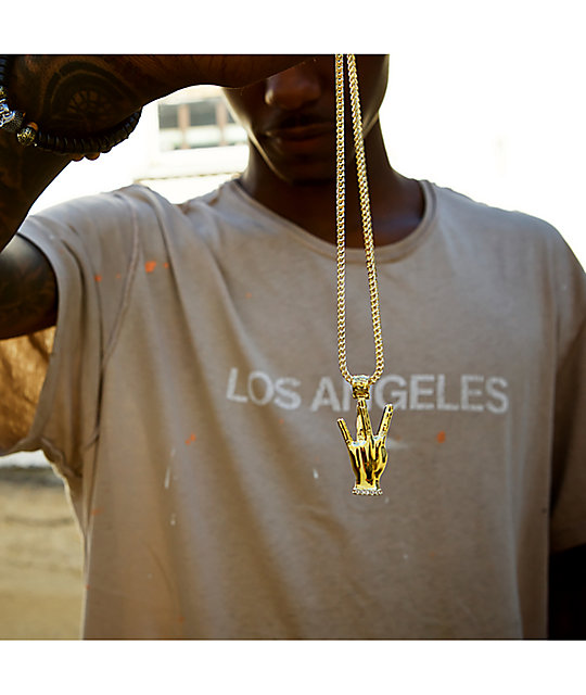 King Ice X Snoop Dogg The Westside Gold Necklace