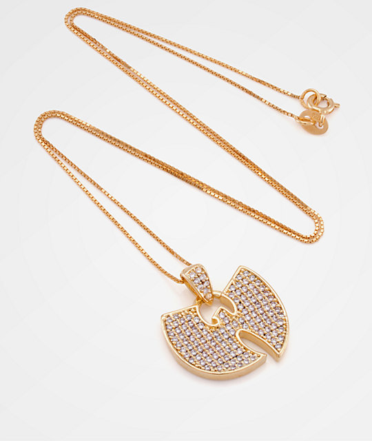 King ice x wu tang stone gold womens necklace zumiez king ice x wu tang stone gold womens necklace aloadofball Images