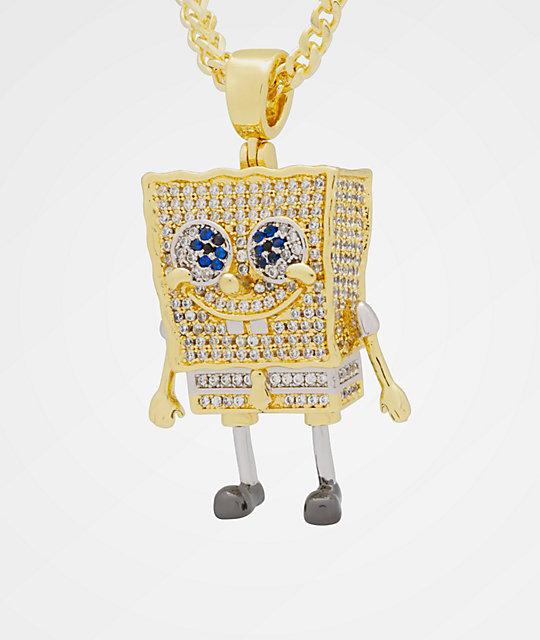 King Ice X Nickelodeon Spongebob Necklace Zumiez