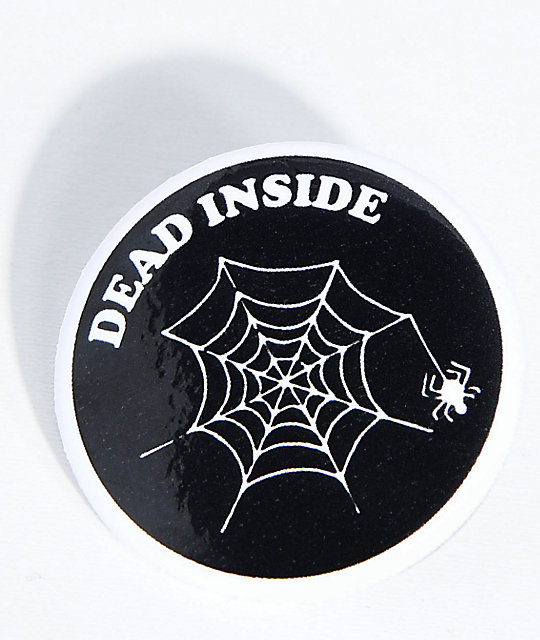 Know Bad Daze Dead Inside Button