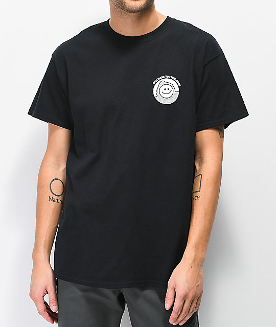 Know Bad Daze Feel Good camiseta negra