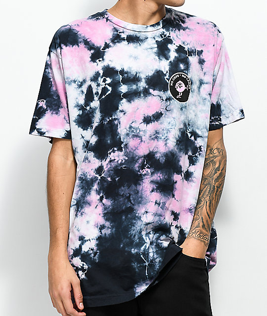 Know Bad Daze No Lames camiseta con efecto tie dye