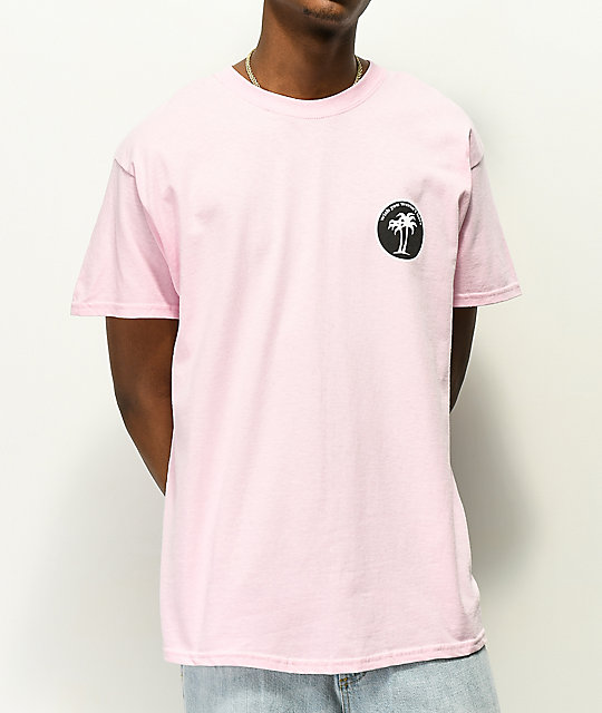 Know Bad Daze Wish You Weren't Here Pink T-Shirt