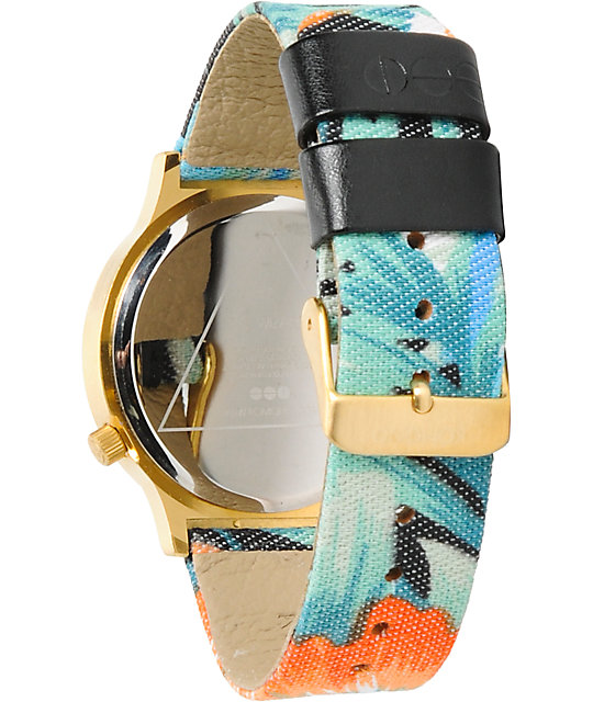 Komono Wizard Tropicalia Analog Watch