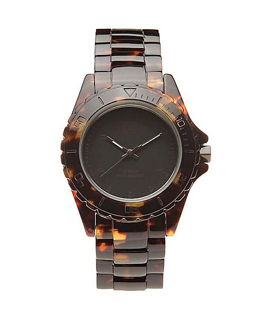 Krew Phantom Elite Brown Tortoise Analog Watch