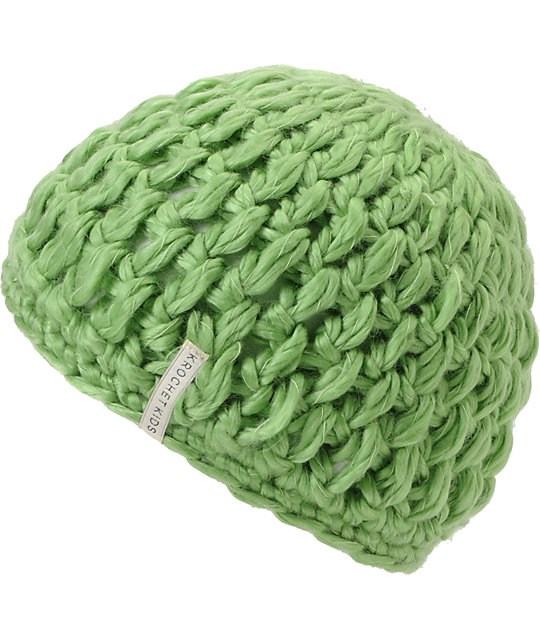 Krochet Kids Betty Green Beanie