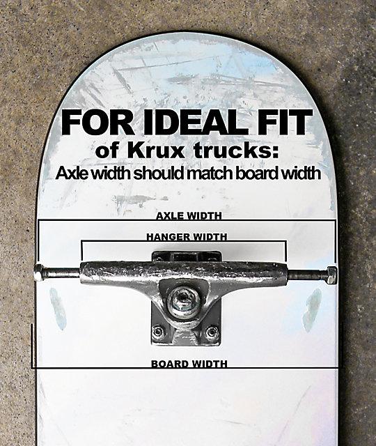 Krux K4 8.0 Tall Skateboard Truck   Zumiez
