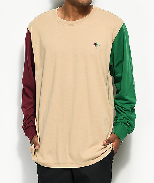 LRG Arch Rivals Tan Long Sleeve T-Shirt