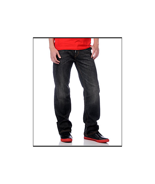 LRG Bare Knuckler C47 Relaxed Fit Jeans