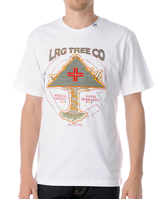 LRG Big Youth White T-Shirt