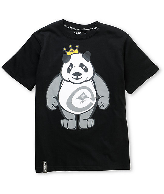 LRG Boys King Of Style Black T-Shirt