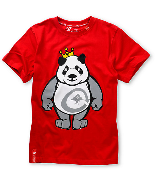 LRG Boys King Of Style Red T-Shirt