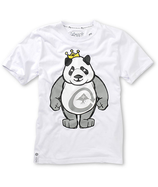 LRG Boys King Of Style White T-Shirt