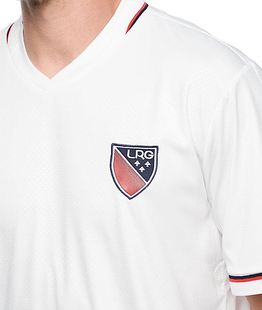 LRG Brighter Futures jersey de fútbol en blanco | Zumiez