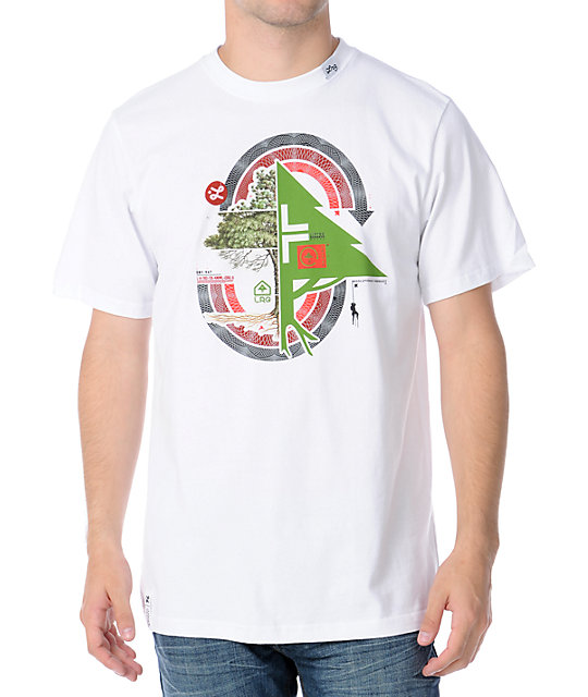 LRG Brighter Morning White T-Shirt
