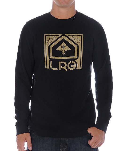 LRG Built From Hardwork Black Thermal