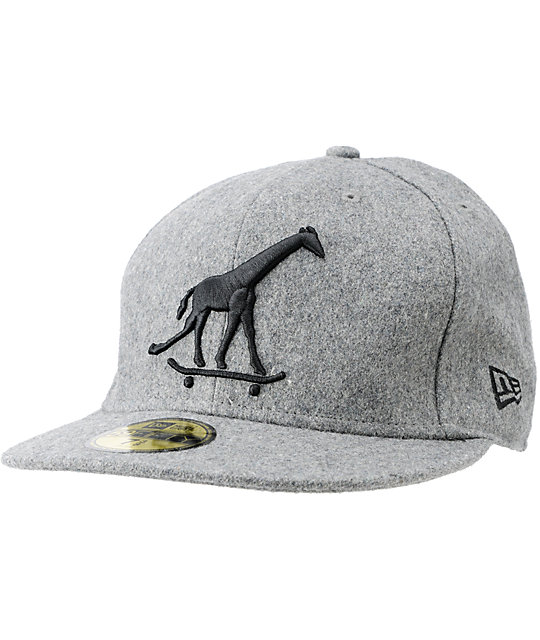 LRG CC Higher Heather Grey New Era Fitted Hat