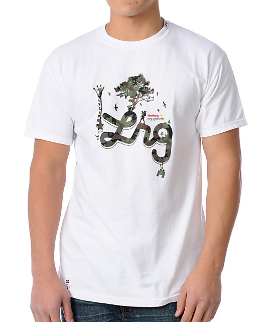 LRG CC Seven White Mens T-Shirt