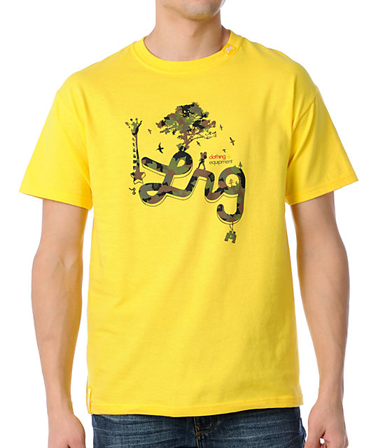 LRG CC Seven Yellow T-Shirt